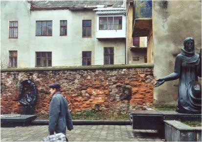 Ghettomauer in Drogobycz